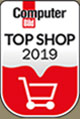 Valentins.de gehört regelmäßig zu den Computer Bild Top-Shops.
